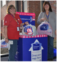 Moyra Cussons and Elizabeth Johnston, Tesco, Dundee
